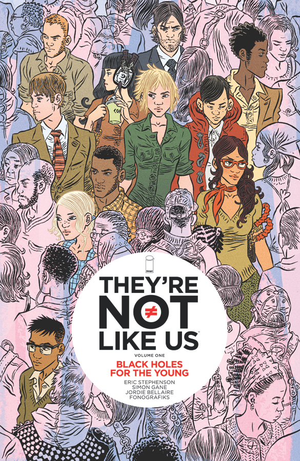 they're not like us, image, image comics, comics, depepi, depepi.com