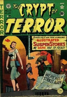 comics, history of comics, history of comics including women, tales from the crypt, crypt of terror, depepi, depepi.com