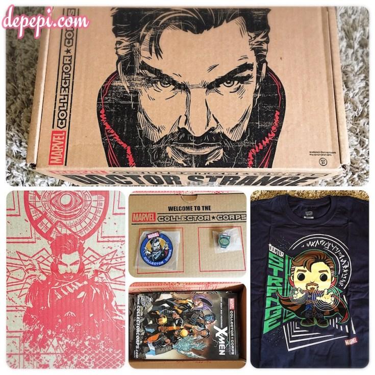 doctor strange, marvel, marvel comics, marvel mcu, marvel collector corps, collector corps, unboxing, depepi, depepi.com