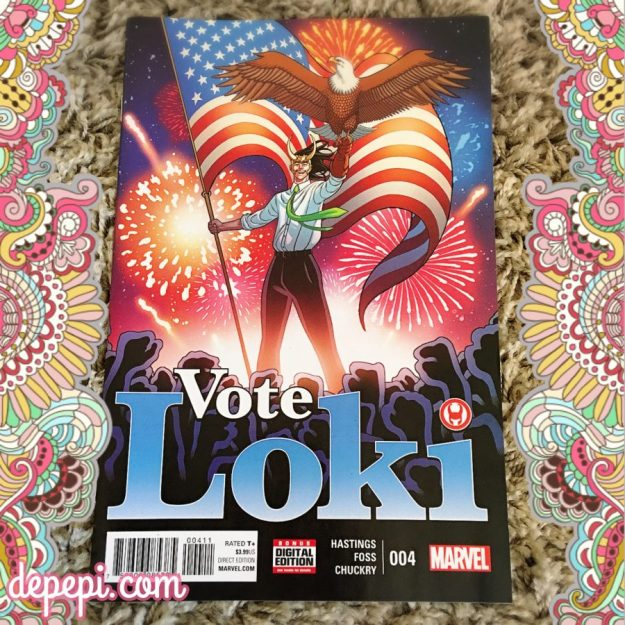 vote loki, vote loki #4, marvel, marvel comics, comics THORsday, depepi, depepi.com, thorsday