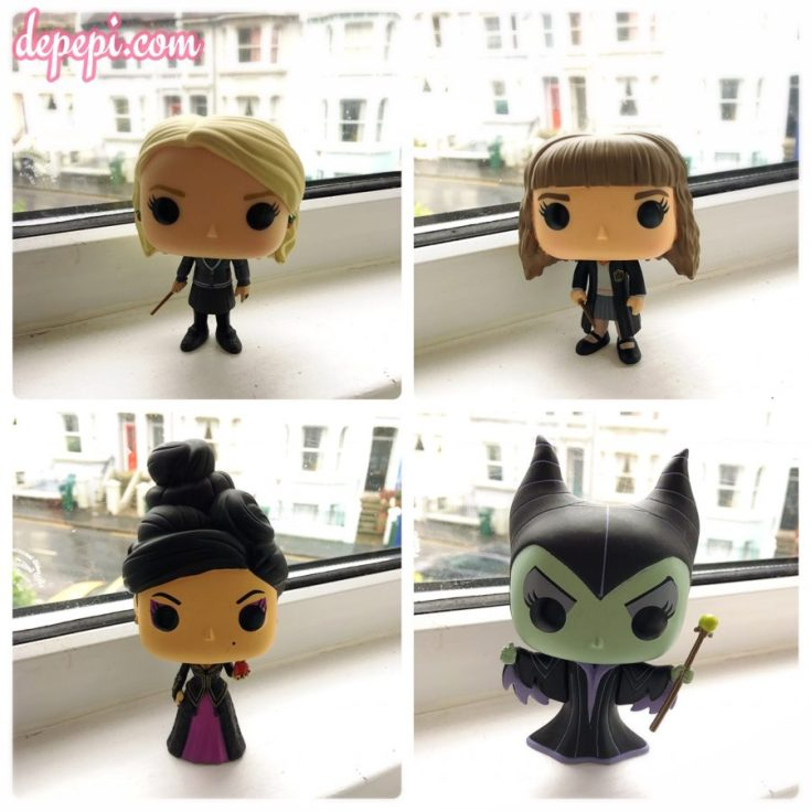 funko, funko pop, funko pops, funkofunatic, funko friday, harry potter, once upon a time, ouat, disney, luna lovegood, hermione, regina, evil queen, maleficent, depepi, depepi.com