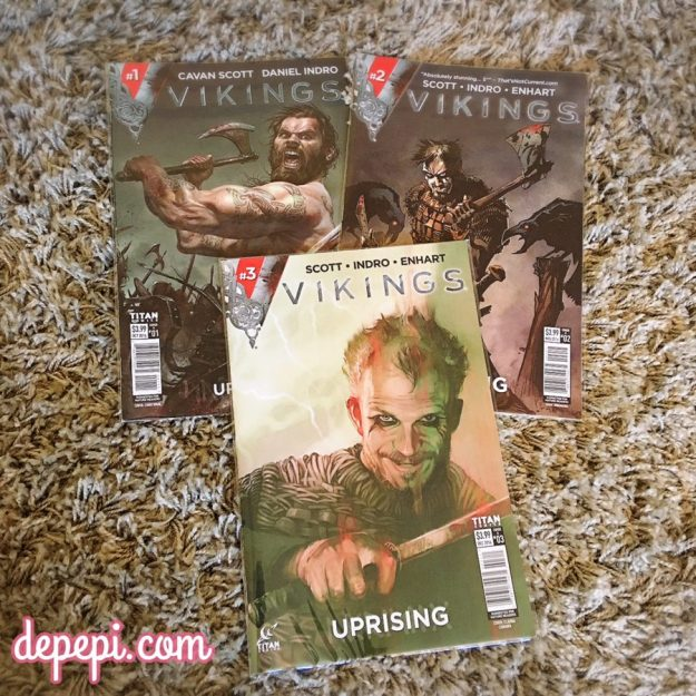 vikings, vikings uprising, vikincs comic, depepi, depepi.com, comics thorsday, comics, thorsday