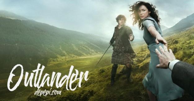 outlander, amazon prime, what I'm watching, depepi, depepi.com