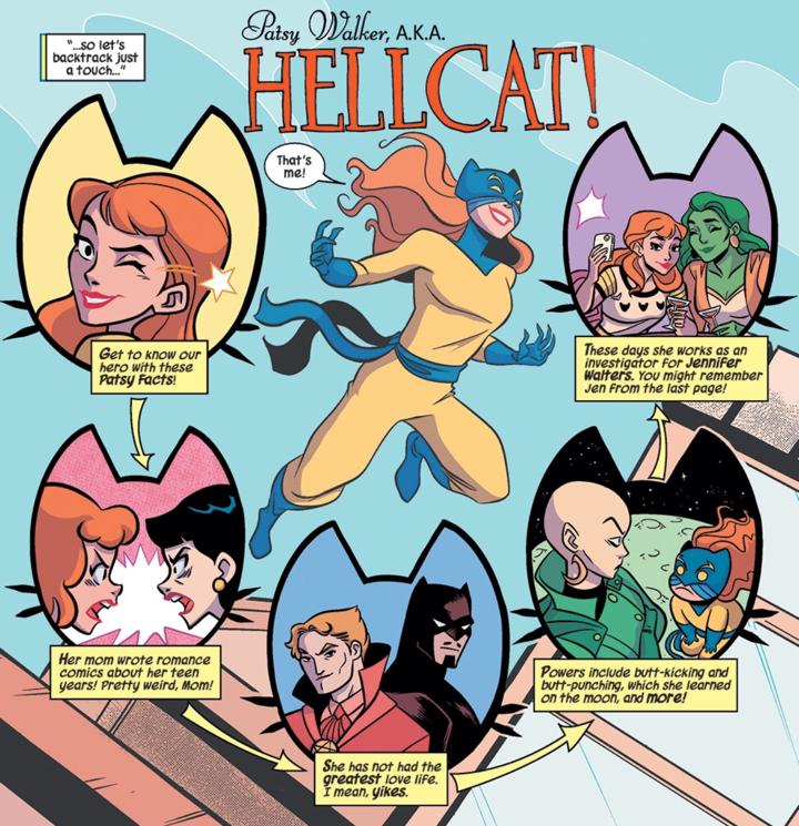 comics, thorsday, thorsday, marvel, marvel comics, hellcat, patsy walker, depepi, depepi.com, review