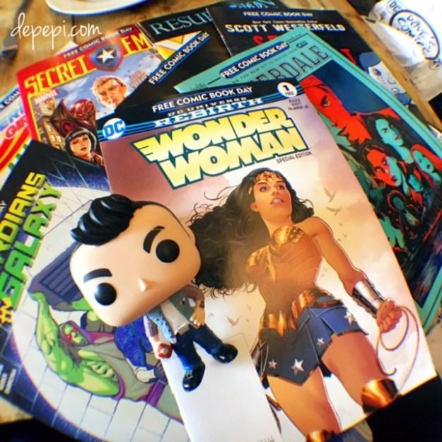 free comic book day, free comic book day 2017, cassidy, the preacher, dc comics, marvel comics, superheroes, depepi, depepi.com