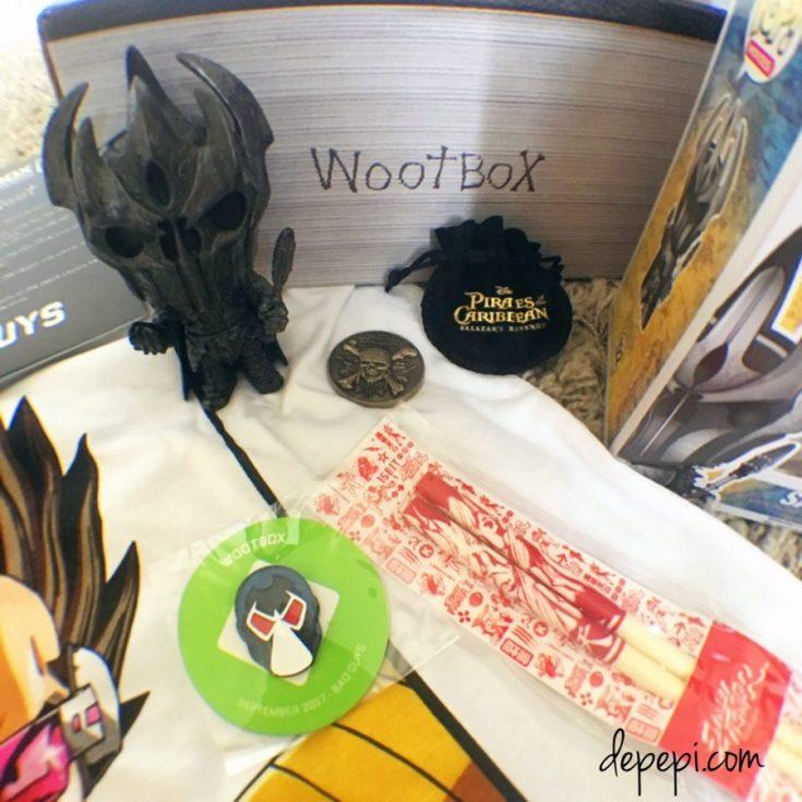 wootbox, bad guys, unboxing, gaming, depepi, depepi.com, wootbox, geek, geek girl