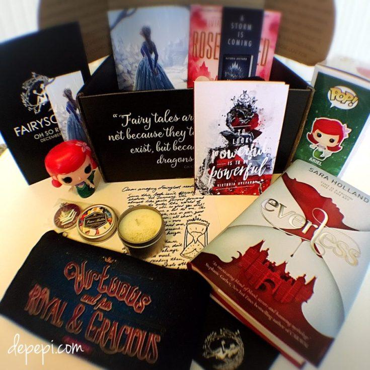 fairyloot december, fairyloot, fairyloot unboxing, unboxing, bookish, depepi, depepi.com
