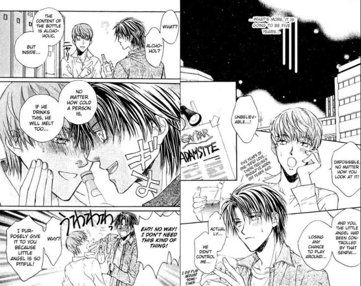 the tirant falls in love, yaoi, yaoi manga, koisuru boukun, 恋する暴君, depepi, depepi.com, reviews