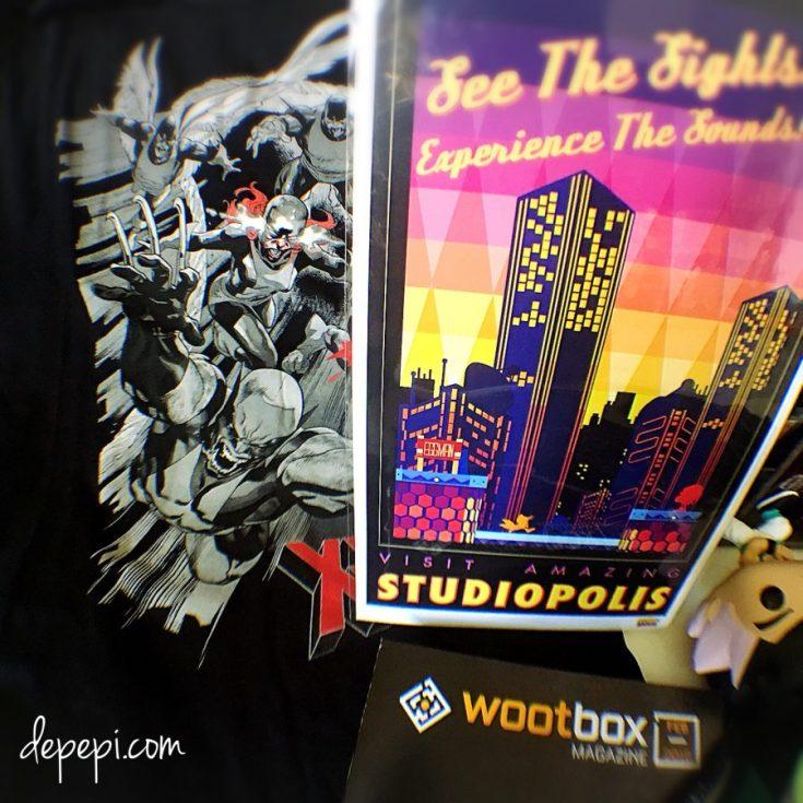 wootbox, wootbox unboxing, unboxing, wootbox february, geek box, depepi, depepi.com