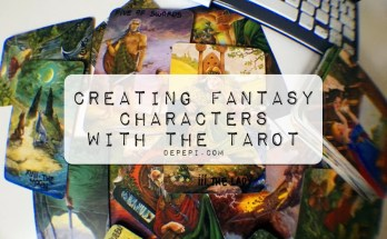 creating characters, writing, writing using the tarot, tarot, depepi, depepi.com