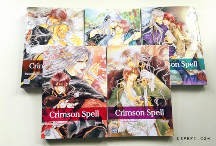 chrimson spell, ayano yamane, yaoi, smut, manga, review, depepi, depepi.com