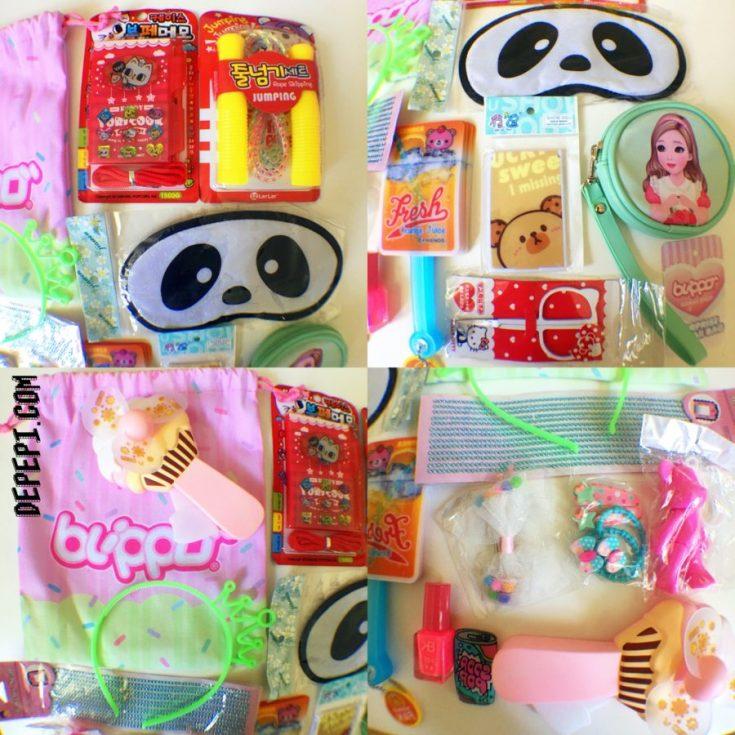 blippo, blippo.com, blippo kawaii surprise bag, fukubukuro, lucky bag, unboxing, giveaway, depepi, depepi.com