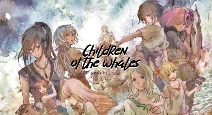 children of the whales, クジラの子らは砂上に歌う, Kujira no Kora wa Sajo ni Utau, anime, manga, netflix, depepi, depepi.com