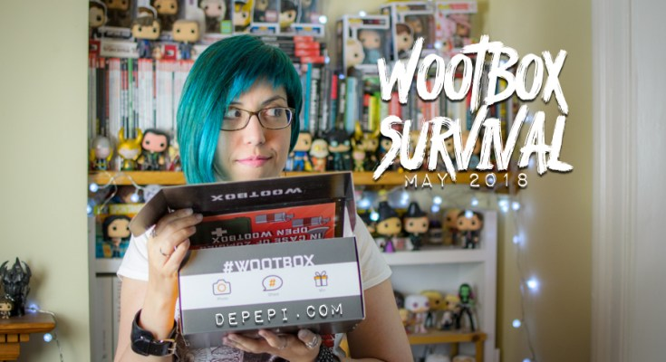 wootbox, wootbox may, wootbox survival, wootbox unboxing, unboxing, lara croft, freddy crugger, resident evil, depepi, depepi.com