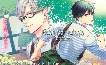 Every day magic, sakiya haruhi, kojiko you, yaoi, yaoi manga, BL, review, reviews, manga, depepi, depepi.com