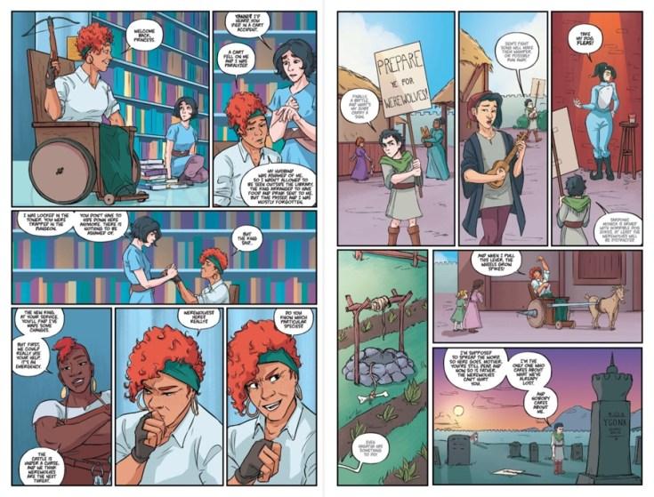 lady castle, lady castle, boom studios, boom! studios, reviews, comics, pop culture, DePepi, DePepi.com