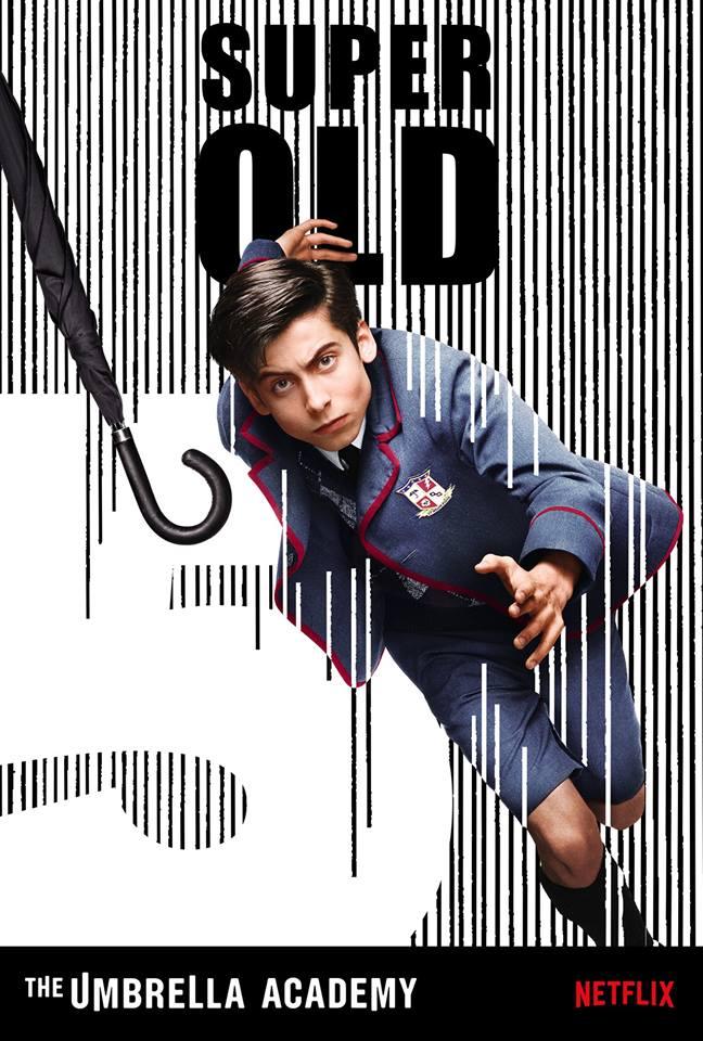 number five, The Boy, the umbrella academy, Klaus Hargreeves , Netflix, depepi, depepi.com