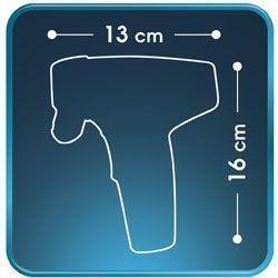 dimensiones de la depiladora Rowenta Instant Soft Compact EP9600F0