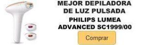 Comprar mejor depiladora luz pulsada ipl Philips Lumea Advanced SC1999-00