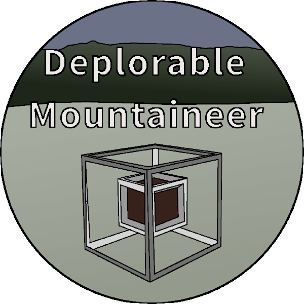 Deplorable Mountaineer Game Development Logo