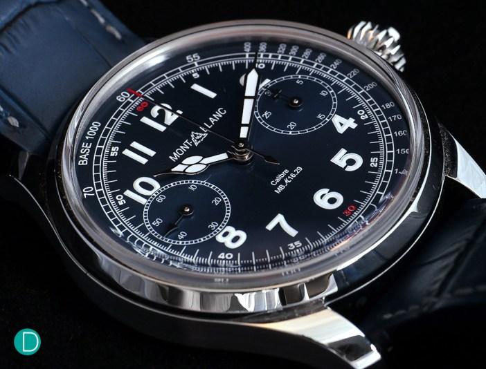 Montblanc Chronograph Tachymeter Blue.