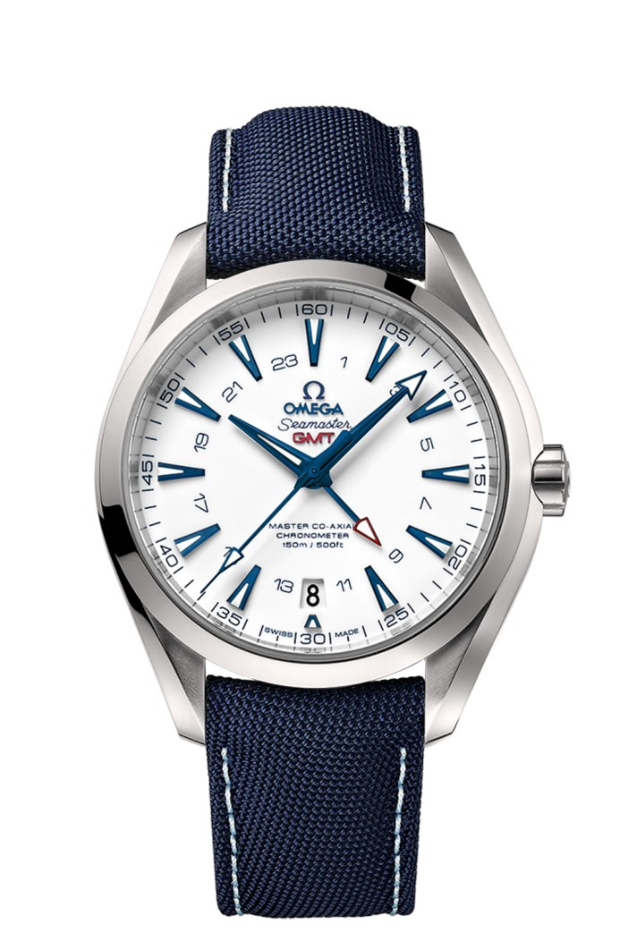 The 43mm version, with the additional GMT complication.
