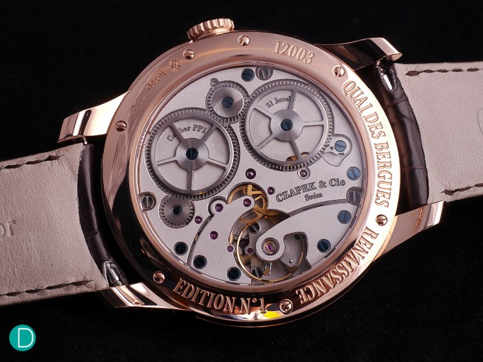 Czapek SXH1. It is clear the design is inspired by the Czapek 3430.