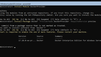 How To Run Linux Containers On Windows Server 2016 Version