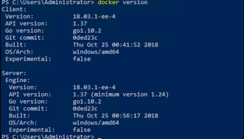 Update Docker On Windows Server 2019 - Deploy Containers and DevOps