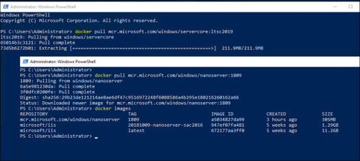 Windows Server 2019 Container Images Available for Download