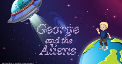 George and the Aliens: Placing COVID-19 in a context suitable for children by Various