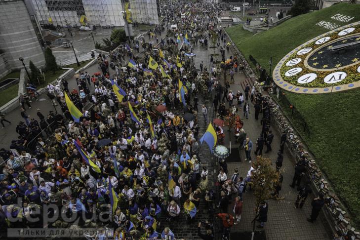 Інший парад: Як центром Києва йшли матері загиблих в АТО військових - фото 22