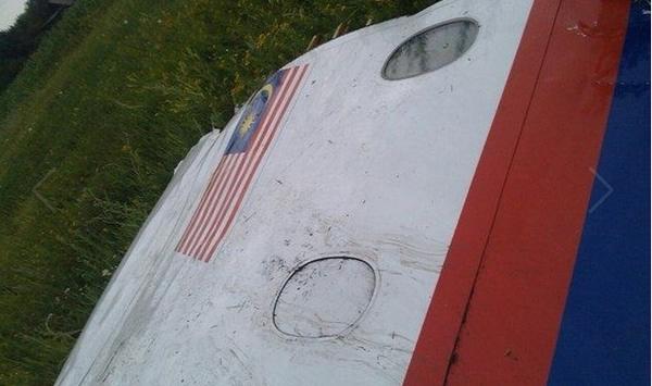 В Сети появились фото с места падения «Боинга»