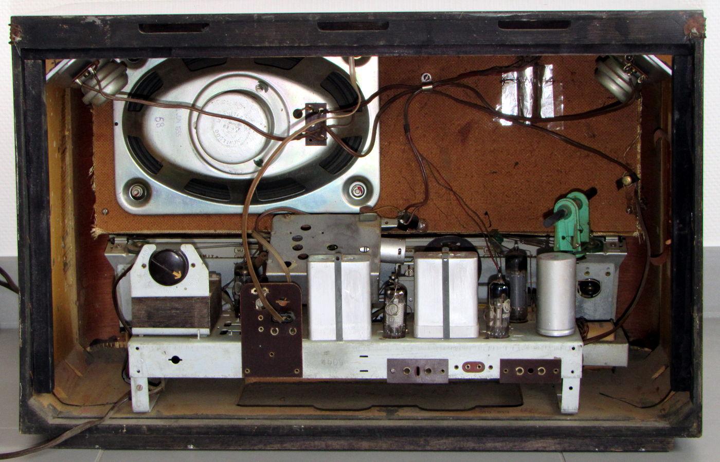 Radio Graetz Musica 4R/217 - chassis/telaio