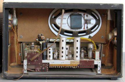 Radio Nordmende Fidelio 57 - chassis