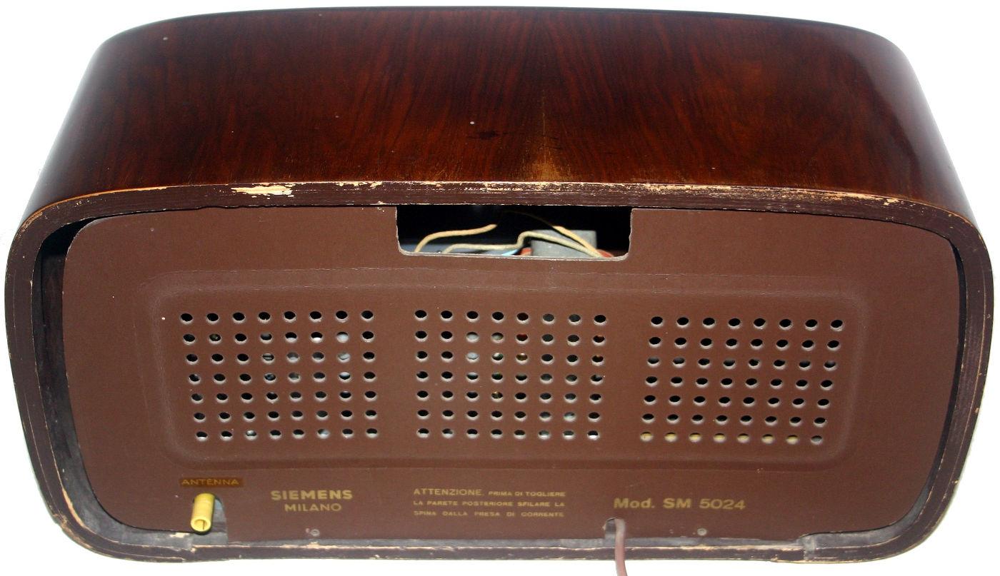 Radio Siemens SM5024 - pannello posteriore