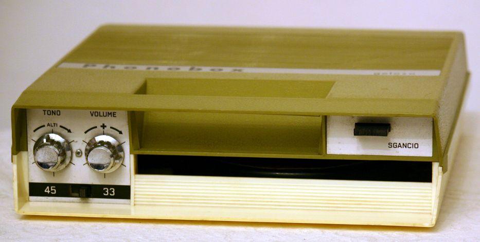 Mangiadischi Geloso Phonobox G6/90