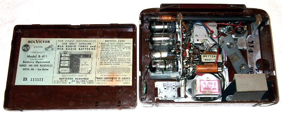 RCA Victor B411_back