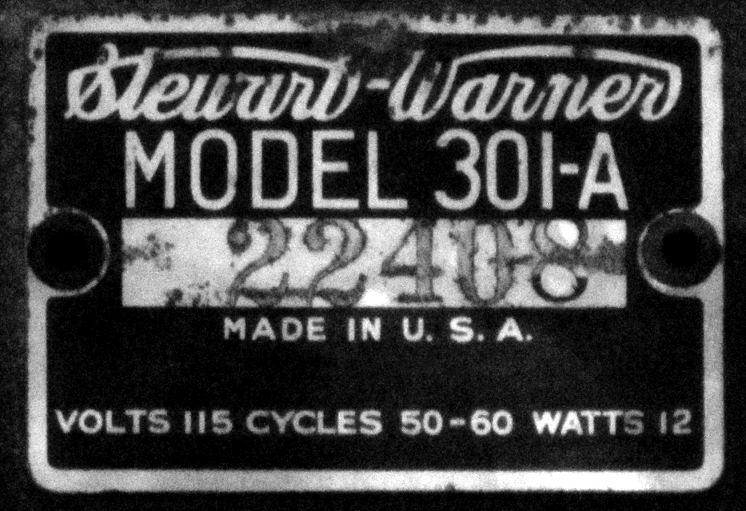US_Stewart_Warner_301A_tag