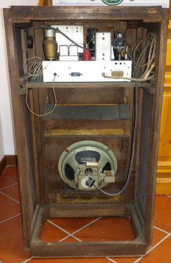 Radio Phonola 632 Serie Ferrosite - telaio