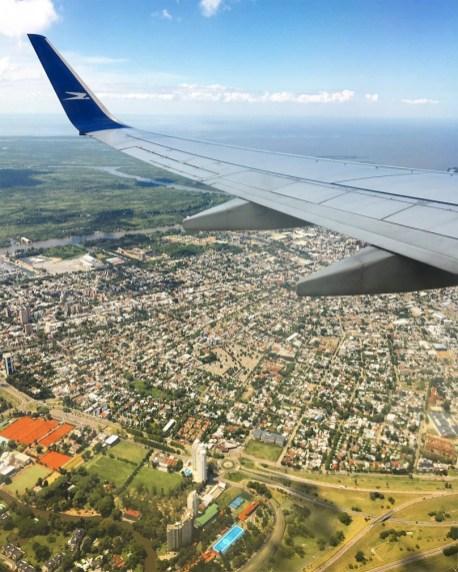 Chegando em Buenos Aires