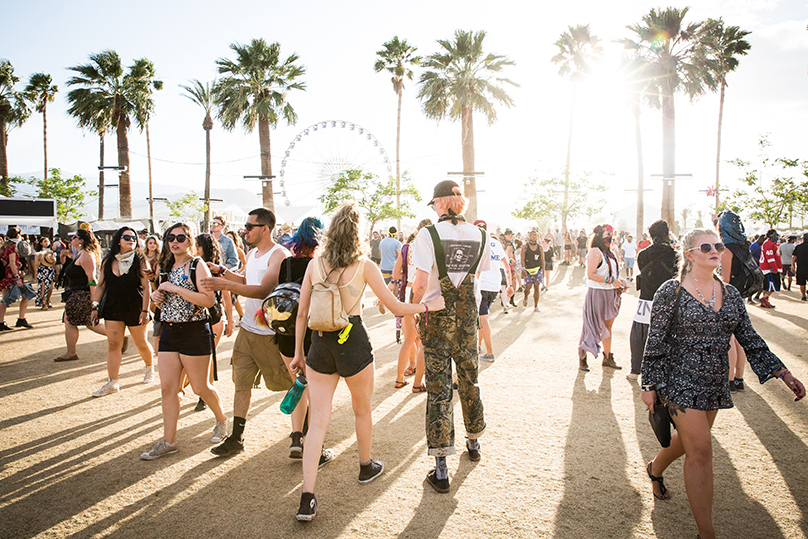The Coachella Valley Music Festival in Indio, California, April 24, 2016.