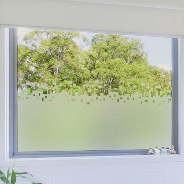 sticker vitres rideau cube 39f