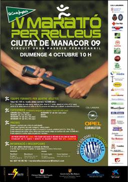 IV Marato per Relleus Ciutat de Manacor