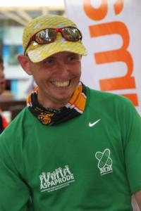 Rafa en el medio maratón de la Vall de Soller 2011