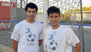 Lucas y Manu