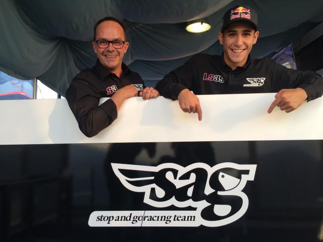 Luis Salom y SAG Racing Team