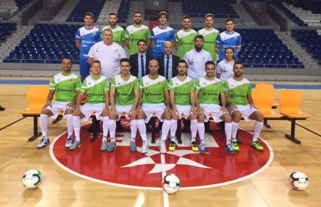 Palma futsal foto equipo completo
