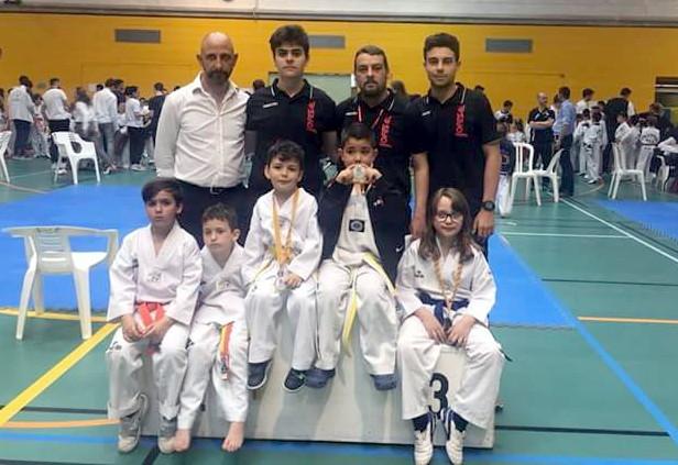 Campeonato mallorca taekwondo infantil