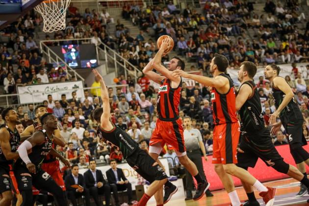 17/05/19.- Foto: Fermin Rodriguez. 3er partido de playoffs de ascenso a ACB entre el Coviran Granada e Iberojet Palma